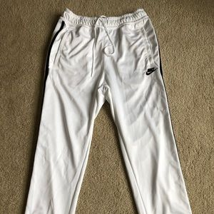 Nike Men's White Athletic Pants